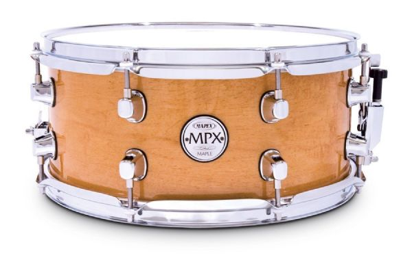 Mapex MPX Maple Snare Drum MPX 13 X 6 MAPLE - NATURAL GLOSS - MPML3600C-NL